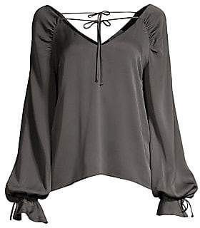 Milly Women's Kristen Bishop-Sleeve Top