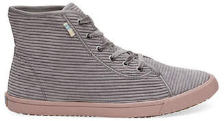 Toms Camarillo Corduroy Lace-Up Sneakers