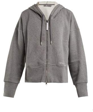 adidas by Stella McCartney Essential Hooded Zip Through Performance Track Top - Womens - Grey