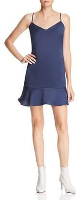 Lucy Paris Flounce-Hem Slip Dress - 100% Exclusive