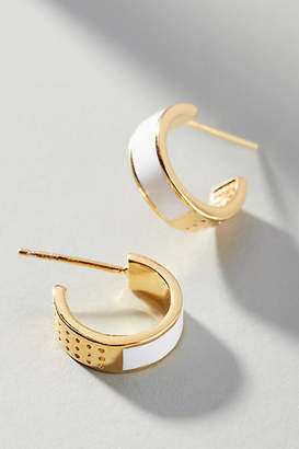 Anthropologie Clarice Hoop Earrings