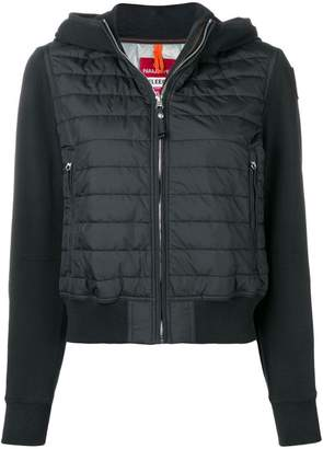 Parajumpers cropped padded bomber jacket
