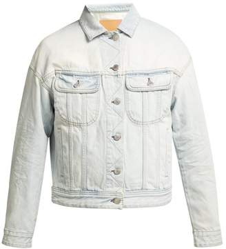 Acne Studios Lamp Denim Jacket - Womens - Blue