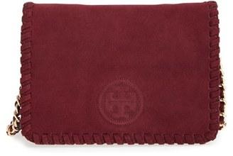 Tory Burch 'Marion' Suede Crossbody Bag $425 thestylecure.com