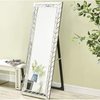 Latitude Run Wheless Contemporary Standing Full Length Mirror
