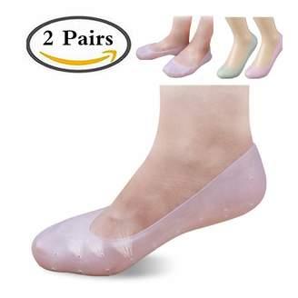 Silicone Sock Silicon Gel Moisturizing Socks Foot Care Sock Foot Protector,XINME Anti Slip Silicone Gel Moisturizing Socks,Prevent Plantar Fasciitis And Metatarsalgia