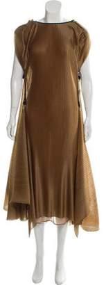 Maticevski Pleated Maxi Dress w/ Tags