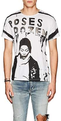Made in Me 8 Men's Transgender-Graphic Cotton T-Shirt - White