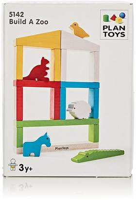 Plan Toys WOODEN BUILD-A-ZOO