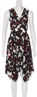 A.L.C. Printed Silk Dress