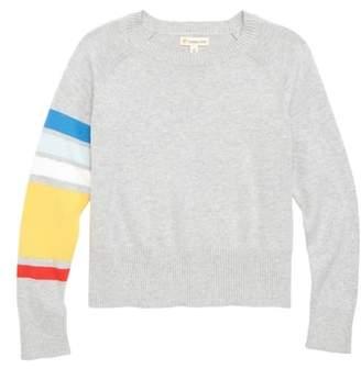Tucker + Tate Asymmetrical Stripe Sweater