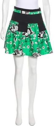 Diane von Furstenberg Claire Mini Skirt