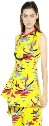 Marni Carioca Printed Cotton Drill Top