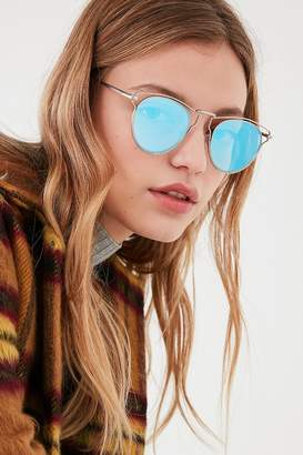 Urban Outfitters Cut It Out Half-Frame Sunglasses