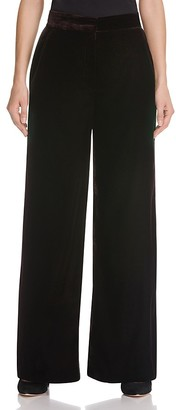 Whistles Velvet Pants - 100% Bloomingdale's Exclusive $280 thestylecure.com