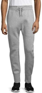 Helmut Lang Drawstring Heathered Track Pants