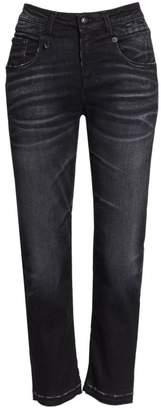 R 13 Straight-Leg Boyfriend Jeans