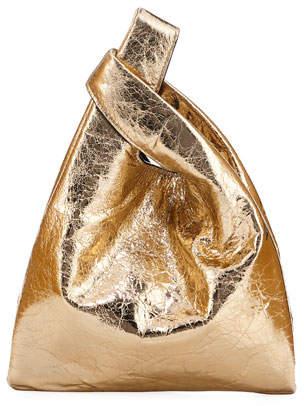Hayward Mini Foiled Leather Shopper Tote Bag