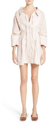 Women's Jacquemus Arlesienne Shirtdress $545 thestylecure.com