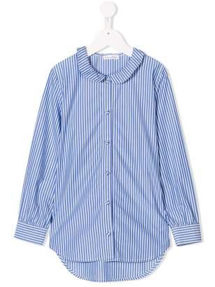 Oscar de la Renta Kids striped shirt