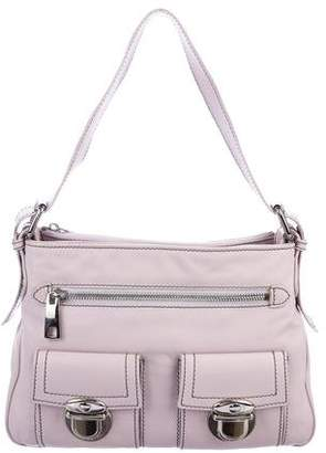 Marc Jacobs Grained Leather Zip Shoulder Bag