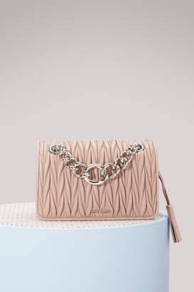 Miu Miu Club matelassé bag