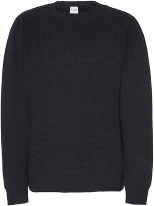 eidos Waffle-Knit Wool Sweater Size: S