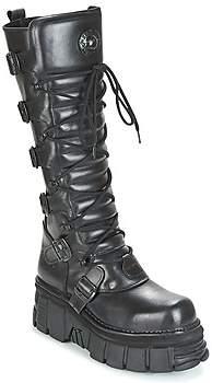 New Rock RITAN women's High Boots in Black