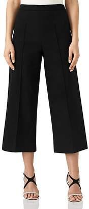 Reiss Nara Wide-Leg Cropped Pants