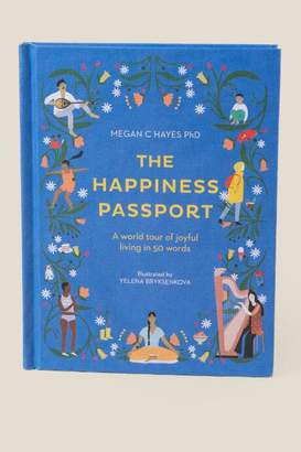The Happiness Passport Book - Blue
