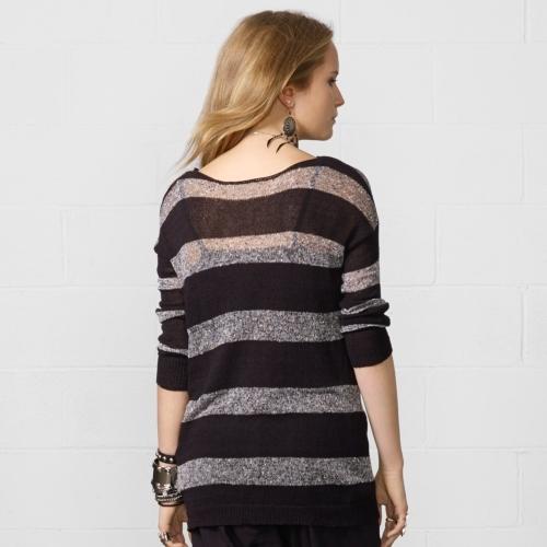 Denim & Supply Ralph Lauren Long-Sleeved Striped Sweater
