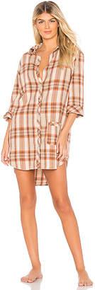 ANDERSON Jo Flannel Sleep Shirt