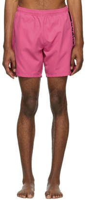BOSS Pink Dolphin Swim Shorts