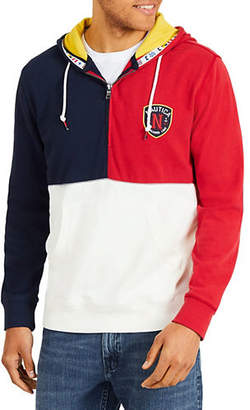 Nautica Fashion Blocked Cotton Hoodie