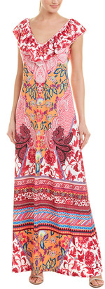 Hale Bob Floral Maxi Dress