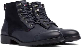 Tommy Hilfiger Leather Ankle Boot