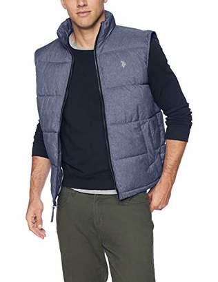 U.S. Polo Assn. Men's Signature Heather Bubble Vest