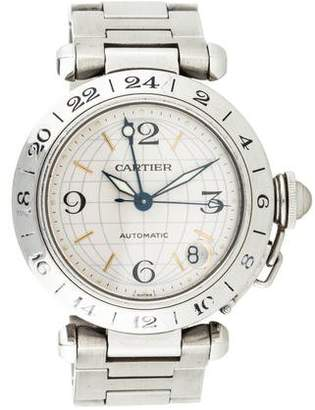 Cartier Pasha C GMT Watch