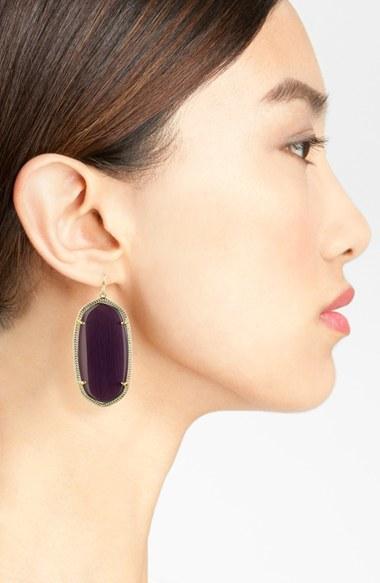 Women's Kendra Scott 'Danielle - Large' Oval Statement Earrings 3