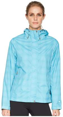 White Sierra Trabagon Rain Printed Shell Women's Coat