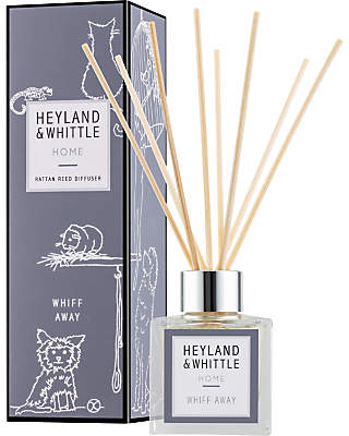 Heyland & Whittle Solutions Whiff Away Diffuser, 100ml, Grey