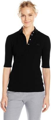 Lacoste Women's Slim Fit Stretch Polo