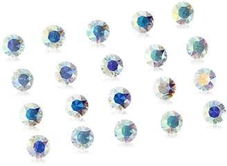 Swarovski Charmed Lockets Crystal Aurora Borealis Floating Charm Set