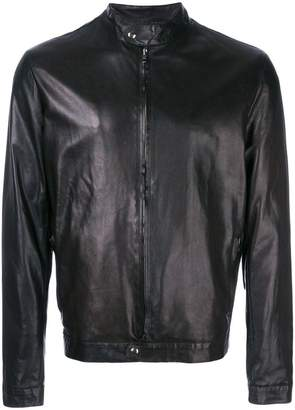 Salvatore Santoro fitted leather jacket