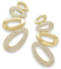 Ippolita 18k Cherish Diamond Earring Climbers