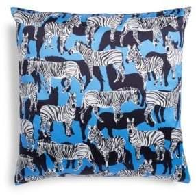 Kate Spade Zebra Print Pillow