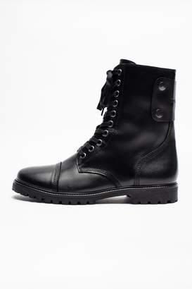 Zadig & Voltaire Joe Fur Men Boots