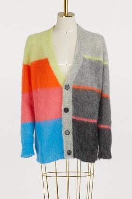 Roberto Collina Long mohair cardigan