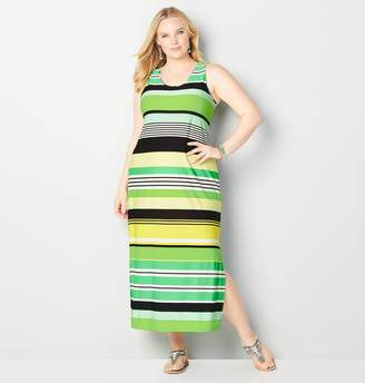 Avenue Citrus Stripe Maxi Dress