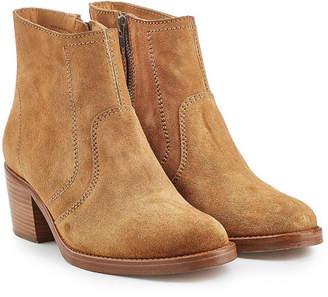 27ce1fa261b A.P.C. Anna Suede Ankle Boots